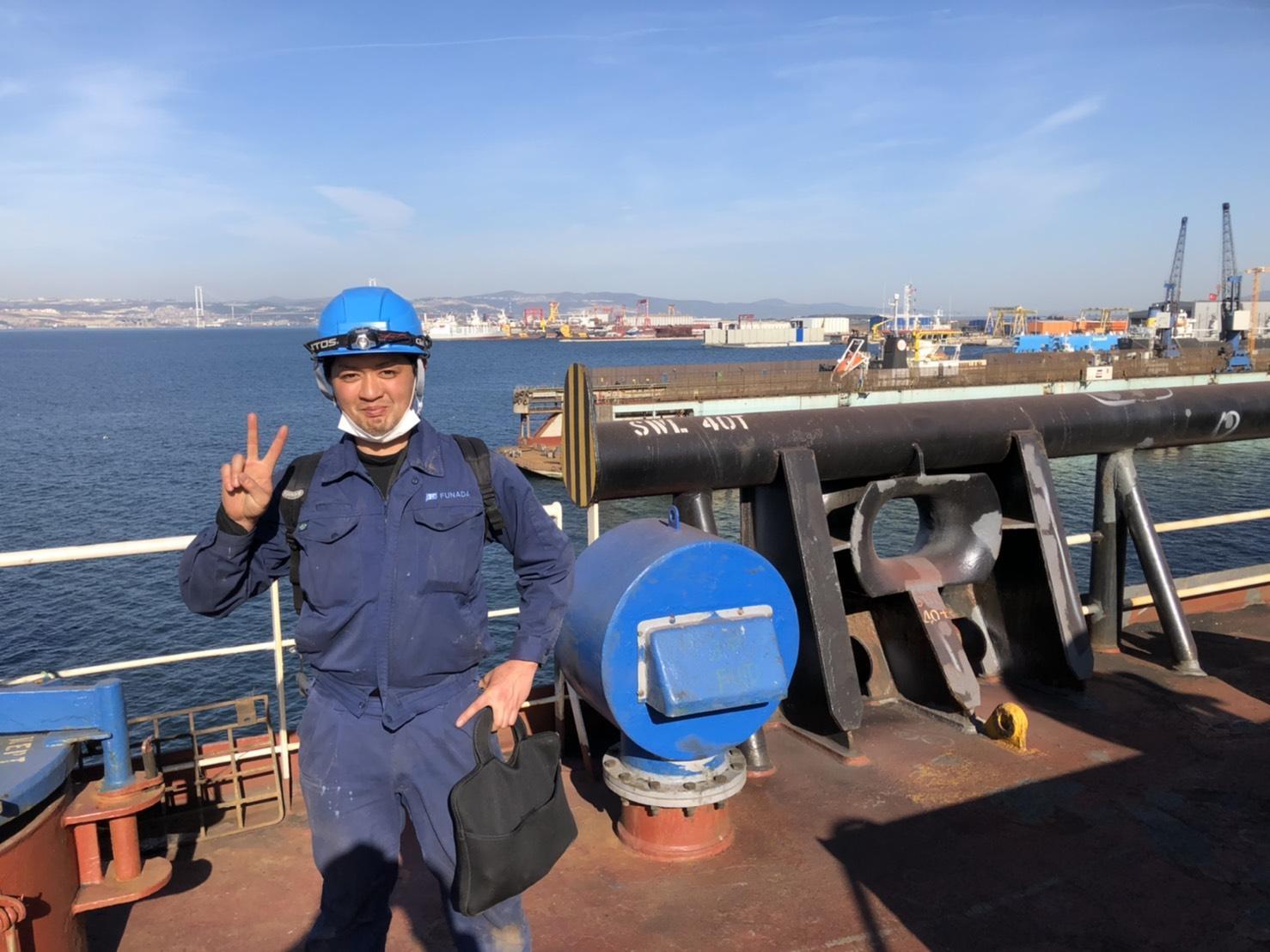 トルコの造船所